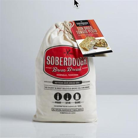 Soberdough Artisan Beer Bread Mix (Sun Dried Tomato Pesto)