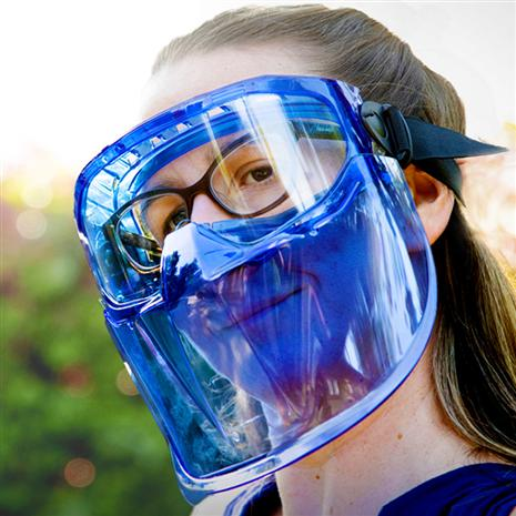 Eagle Eyes Safety Goggles with Face Shield