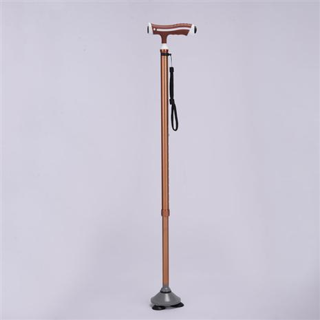 Safety Cane with LED Light (Rose Gold)
