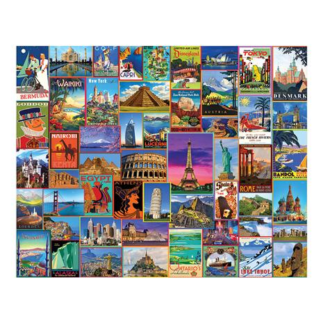 Best Places in the World Puzzle (1,000 pieces)