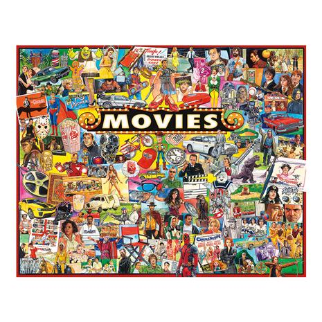 The Movies Puzzle (1,000 pieces)
