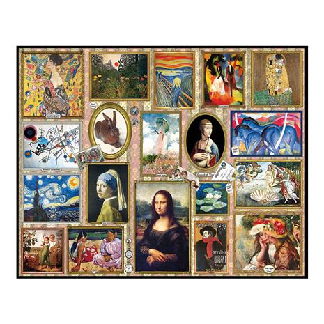 Great Paintings Puzzle (1,000 Pieces)