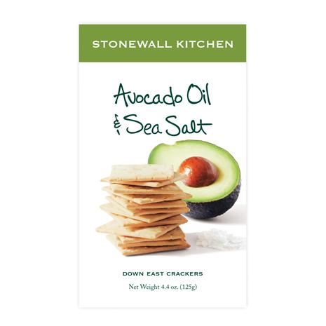 Avocado Oil and Sea Salt Crackers (4.4oz.)
