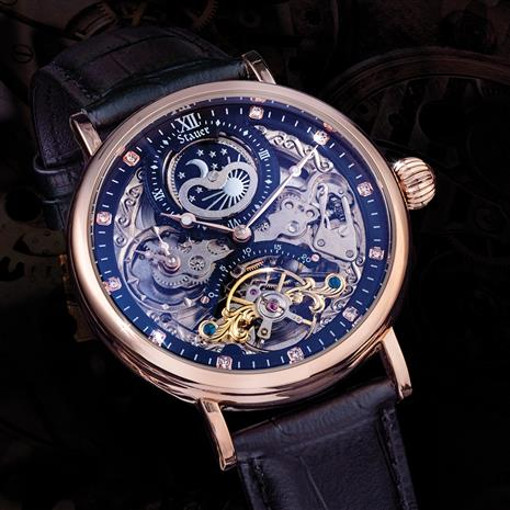 Men's Automatic Skeleton Watch
