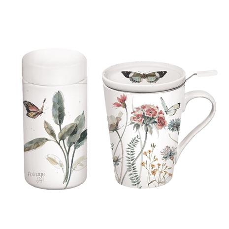 Botanical Dreamer Tea Cup & Infuser Gift Set