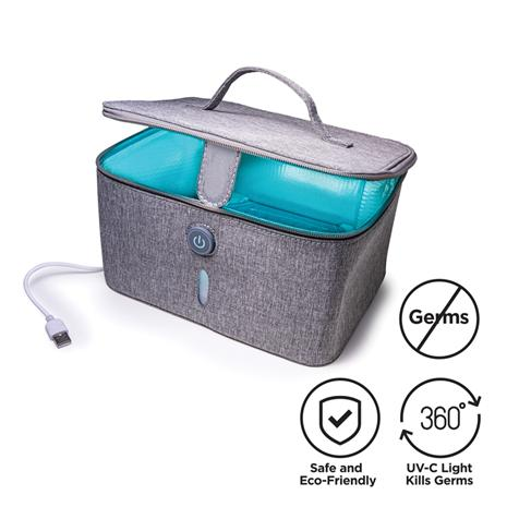 Portable UVC Light Sterilizer Box (Grey)