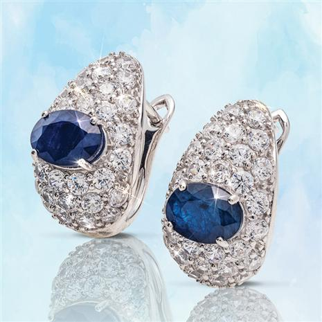 Monique Sapphire Earrings