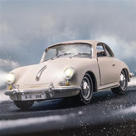 1961 Porsche 356B Coupe (White)