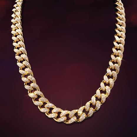 Italian-Made Curb Link Necklace