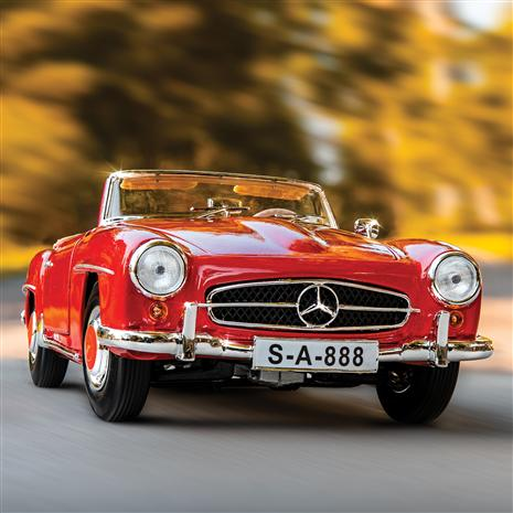 1955 Mercedes-Benz 190 SL (Red)