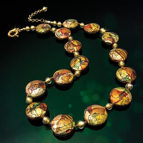 Murano Sunset Necklace