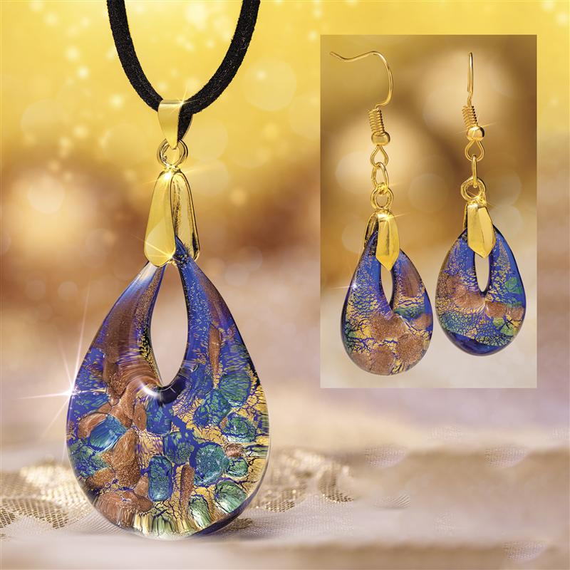 Dolce Murano Necklace & Earrings