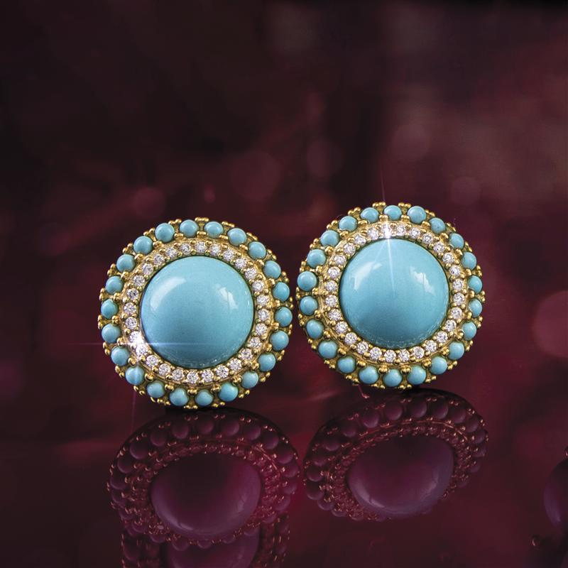 Turchese Italiano Earrings