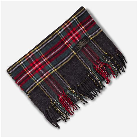 Cashmere Scarf (Red Plaid)
