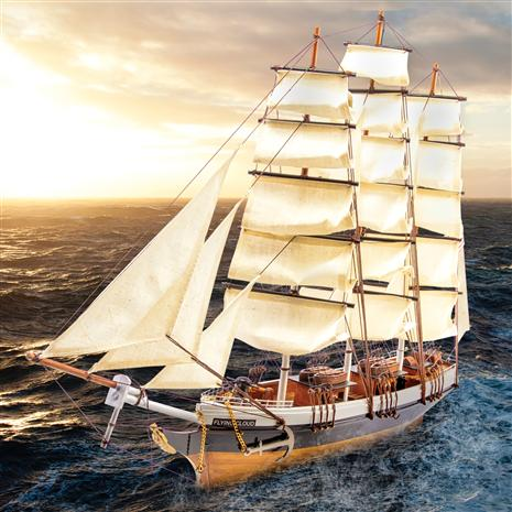 Flying Cloud Tallship Replica