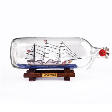 USCGC Eagle Replica in a Bottle