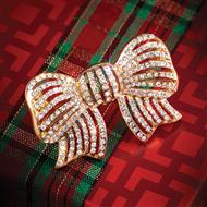 All Bow to Romance Brooch