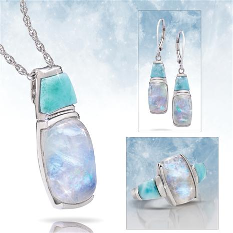 Moonstone & Larimar Collection