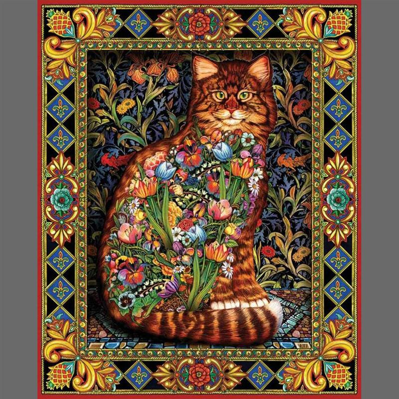 Tapestry Cat Puzzle (1,000 Pieces)