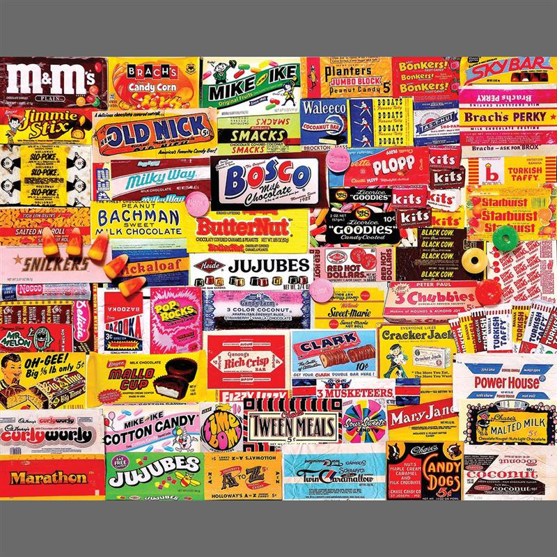 Candy Wrappers Puzzle (1,000 Pieces)