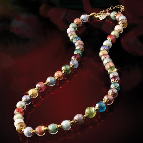 Murano Rainbow Necklace