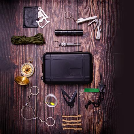 11-Piece Emergency Survival Kit