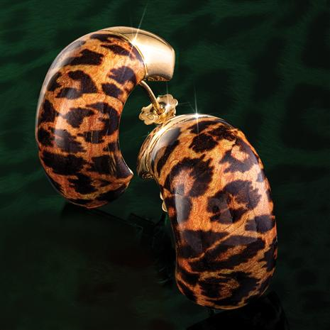 Leopardo Italia Earrings