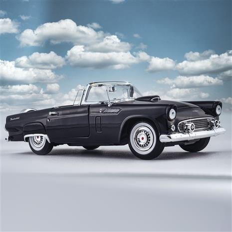 1956 Ford Thunderbird Convertible (Black)