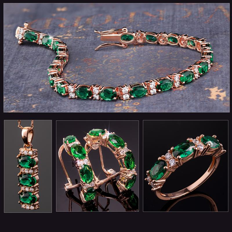 Stress-Free Glamour Collection (Emerald Green)