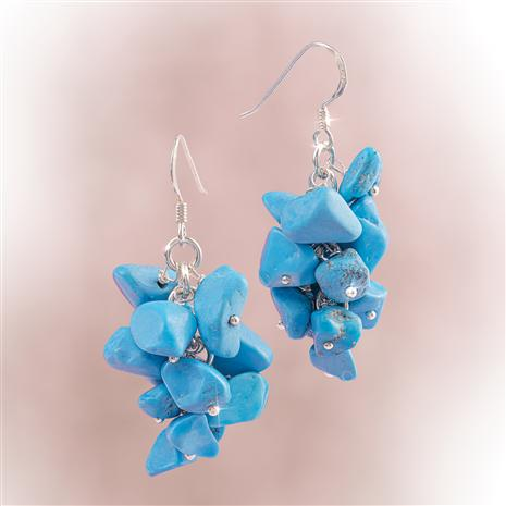 Turquoise Princess Earrings