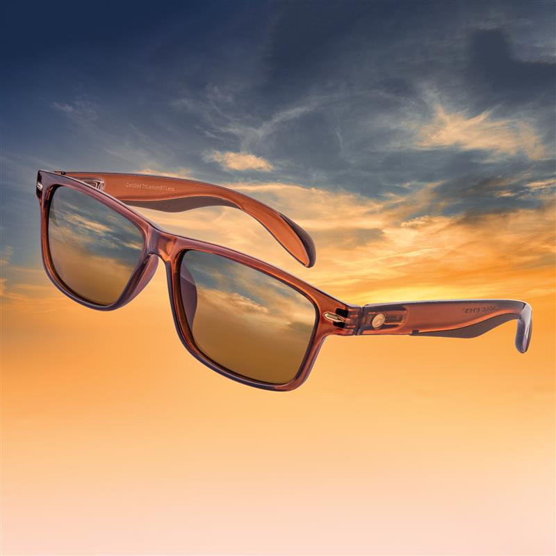 Eagle Eyes Casey Sunglasses (Clear Brown)