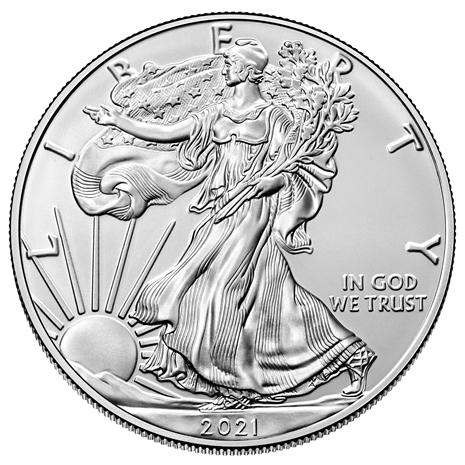 MS70 Graded 2021 American Eagle