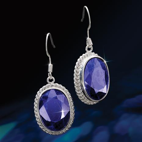 Bengal Blues Sapphire Earrings