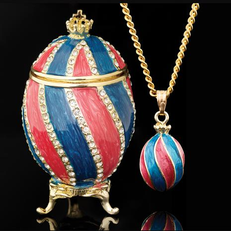 Freedom Reigns Egg & Necklace