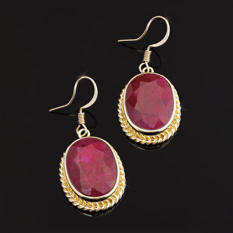 Ruby Prosperity Earrings