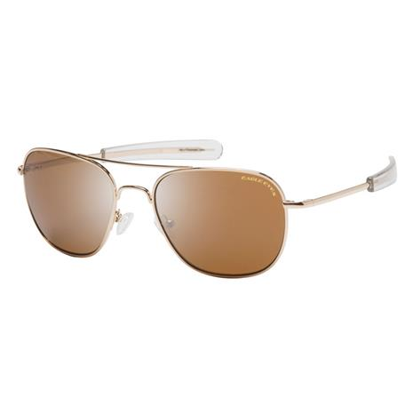 Eagle Eyes Freedom Sunglasses (Gold/Brown)