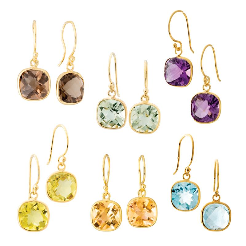 Gemdrops Earring Collection (6 pairs)