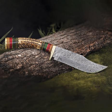 Damascus Stag Blade