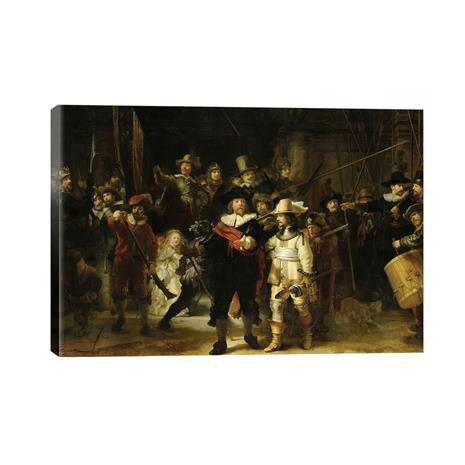 """Rembrandt's """"The Night Watch"""" Gallery Wrapped Canvas"""
