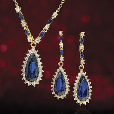 Hollywood Lights Necklace & Earrings