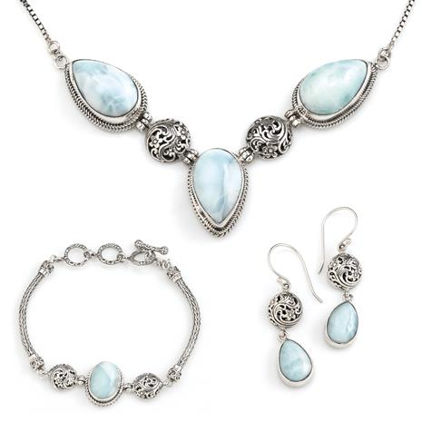 Two Islands Larimar Collection