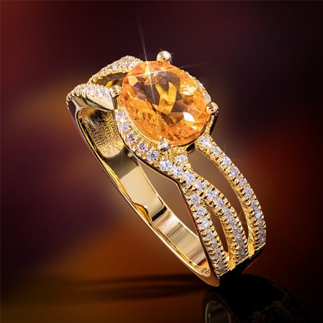 Incendio Fire Opal Ring
