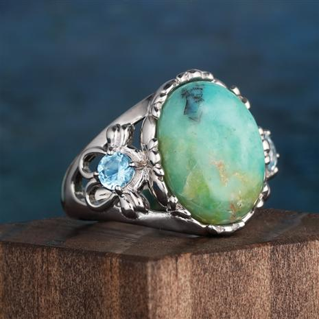 Impressionists Turquoise Ring