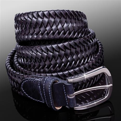 Men's Italian Leatheer Comodo Belt BLACK