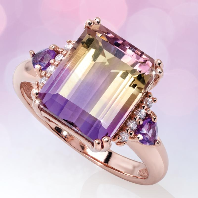 Ametrine Bliss Ring (4 ctw)