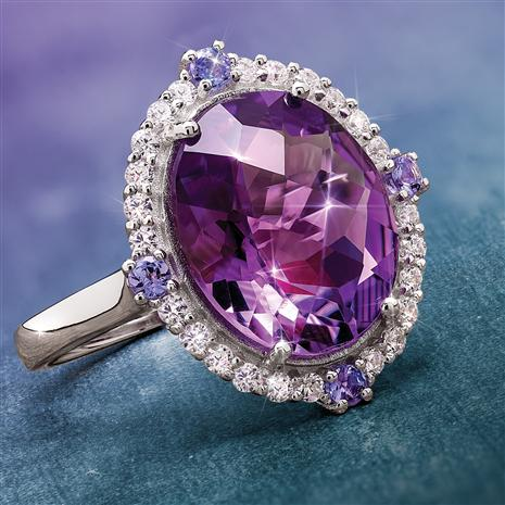 Royal Amethyst Ring