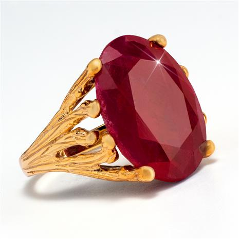 Velvet Ruby Gemstone Ring