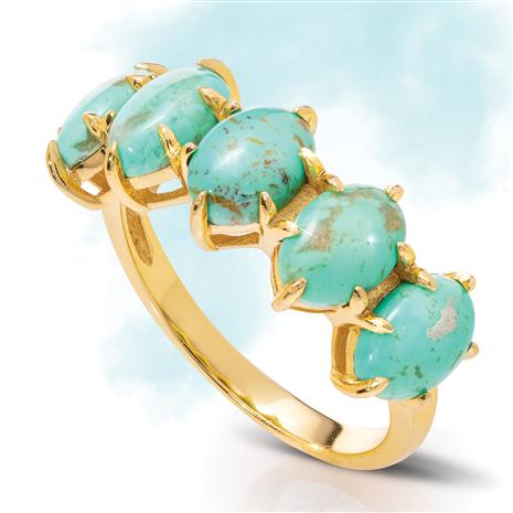Kingman Turquoise Sovereignty Ring