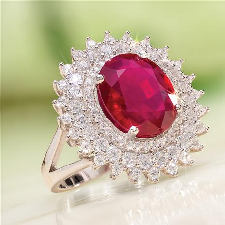 Ruby Red Alert Ring