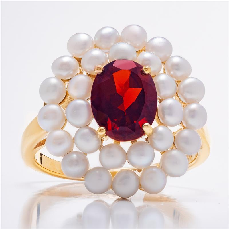 Indulgence Garnet Ring